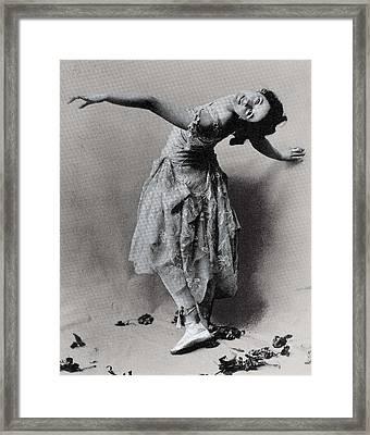 Duncan, Isadora 1878-1927. � Framed Print by Everett