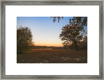 Duncan Sunrise Framed Print