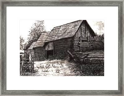 Dunchurch Farm Framed Print