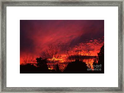 Dundee Sunset Framed Print
