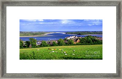 Dundrum Bay In County Down Ireland Framed Print by Nina Ficur Feenan