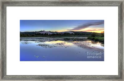 Dune Climb From M-22 Framed Print by Twenty Two North Photography