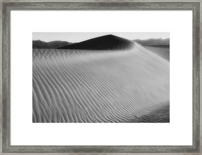 Dune Death Valley Framed Print by Hugh Smith