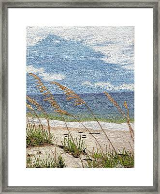 Dune Framed Print by Jenny Williams