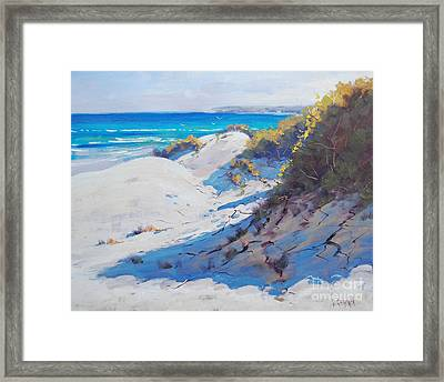 Dune Light Framed Print