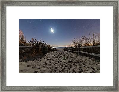 Dune Light Framed Print by Kristopher Schoenleber