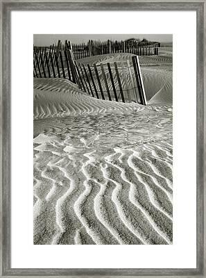 Dune Patterns II Framed Print by Steven Ainsworth