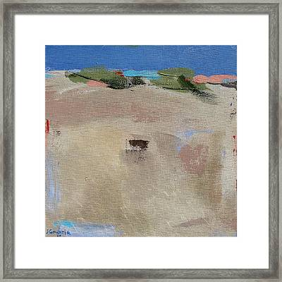 Dune Privacy Framed Print by Jacquie Gouveia
