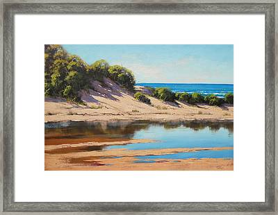 Dune Reflections Framed Print