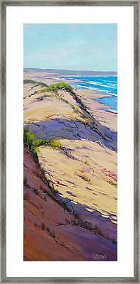 Dune Scape Framed Print by Graham Gercken