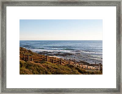 Dune Steps 01 Framed Print by Rick Piper Photography