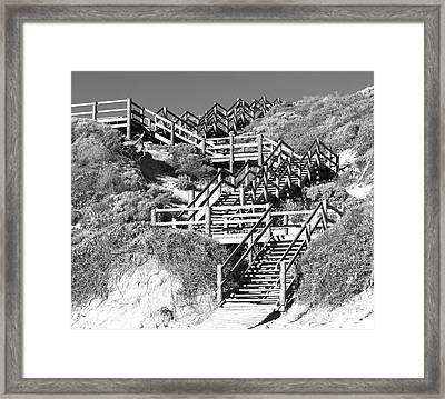 Dune Steps 02 Framed Print by Rick Piper Photography