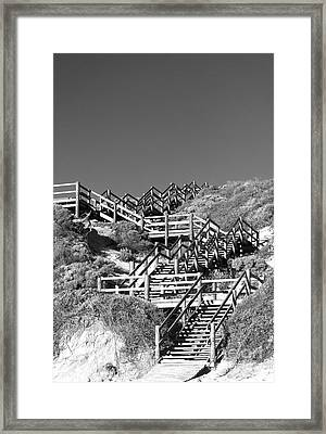 Dune Steps 03 Framed Print by Rick Piper Photography