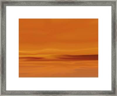 Dunes At Sunset Framed Print by Tim Stringer