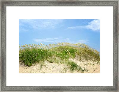 Dunes In Rodanthe Framed Print