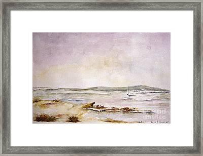 Dunes Iv Framed Print