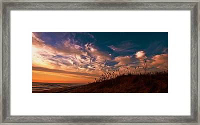 Framed Print featuring the photograph Dunes by John Harding