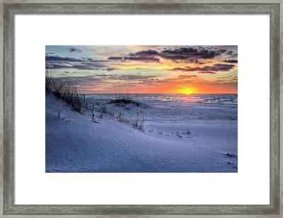 Dunes Of Gulf Islands National Seashore Framed Print by JC Findley
