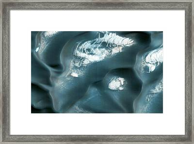 Dunes On Mars Framed Print by Nasa/jpl-caltech/univeristy Of Arizona