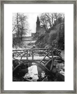 Dunfermline Abbey Framed Print by Underwood Archives
