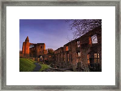 Dunfermline Palace Framed Print