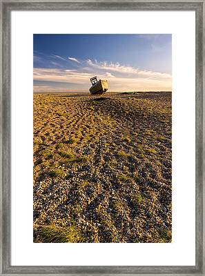Dungeness Boats.  Framed Print