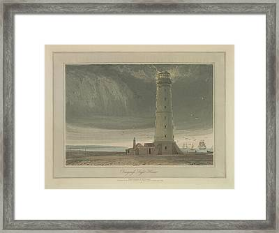 Dungeness Light House Framed Print by British Library