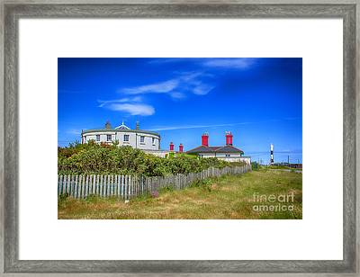 Dungeness Lighthouse Quarters Framed Print