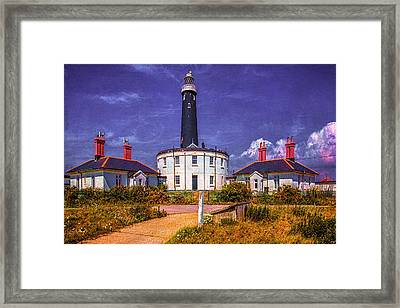 Dungeness Old Lighthouse Framed Print