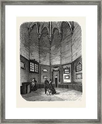 Dungeon Of Vincennes Framed Print by Litz Collection