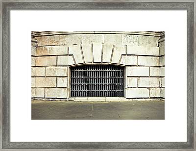 Dungeon Framed Print by Tom Gowanlock