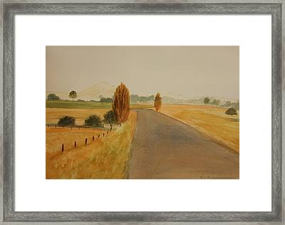 Dungog Area Nsw Australia Framed Print by Tim Mullaney