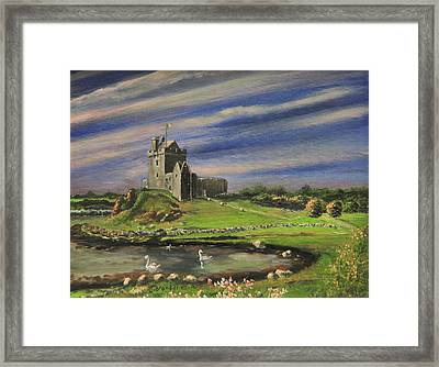 Dunguaire Castle Ireland Framed Print by Cecilia Brendel