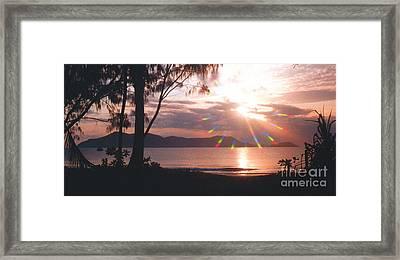 Dunk Island Australia Framed Print by Jerome Stumphauzer