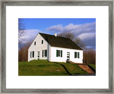 Dunker Church Antietam Framed Print by William Fox