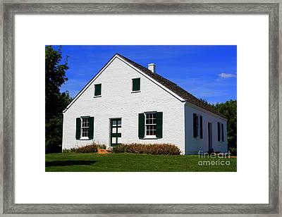 Dunker Church Framed Print by Patti Whitten