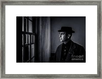 Dunker Preacher Framed Print by George Garbeck