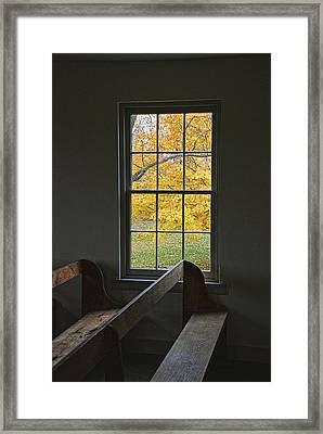 Dunker Window Framed Print by Mike Talplacido