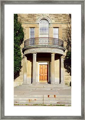 Dunlap Observatory Abandoned Building Framed Print by Valentino Visentini