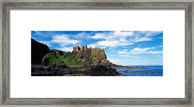 Dunluce Castle, Antrim, Ireland Framed Print by Panoramic Images