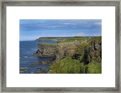 Dunluce Castle Framed Print by Betsy Knapp