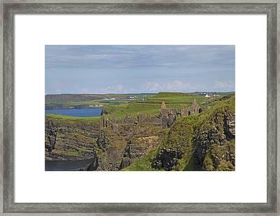 Dunluce Castle Ireland Framed Print by Betsy Knapp