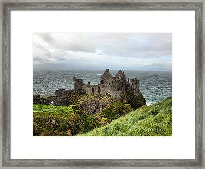 Dunluce Framed Print by Christy Nicholas