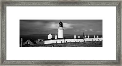 Dunnet Head Lighthouse At Easter Head Framed Print by Panoramic Images