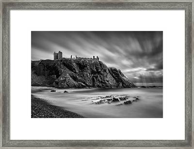 Dunnottar Castle 2 Framed Print by Dave Bowman