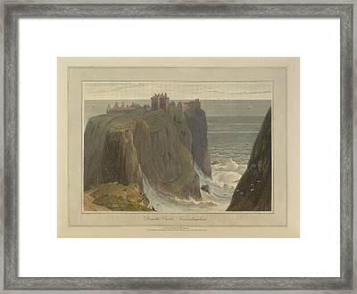 Dunotter Castle Framed Print by British Library