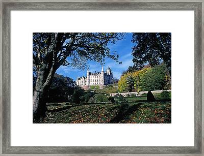 Dunrobin Castle Framed Print by Buddy Mays