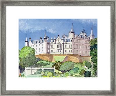 Dunrobin Castle Framed Print by David Herbert