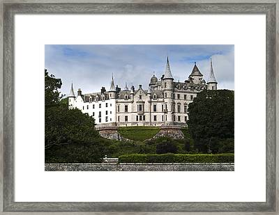 Framed Print featuring the photograph Dunrobin Castle Golspie Scotland by Sally Ross
