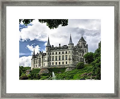 Dunrobin Castle Framed Print by Jacqi Elmslie